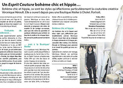 Boutique, Atelier, Article, Presse, Actualité, Hippie, Chic, Bohème