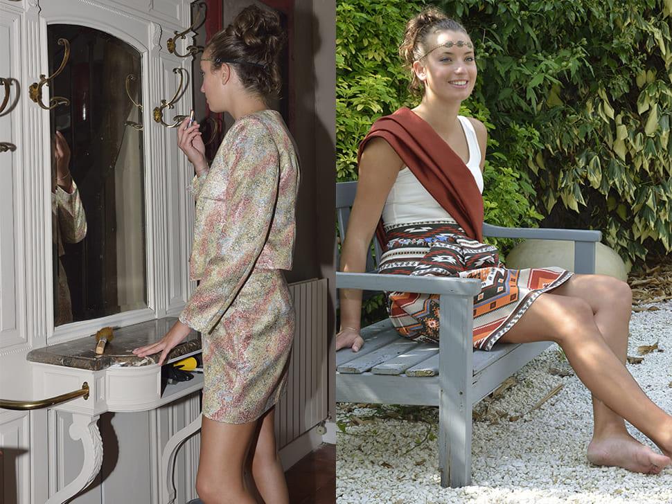 La Boutique Atelier, Cholet, Créations, Vêtements, shooting, photos, robes, tenues
