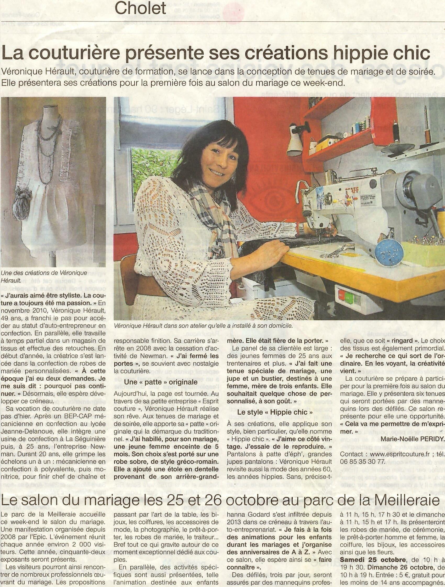 Boutique, Atelier, Article, Ouest, France, Cholet, Couturière, Mariage