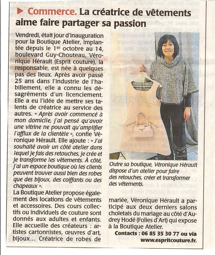 Boutique, Atelier, Cholet, Article, Partage, Passion
