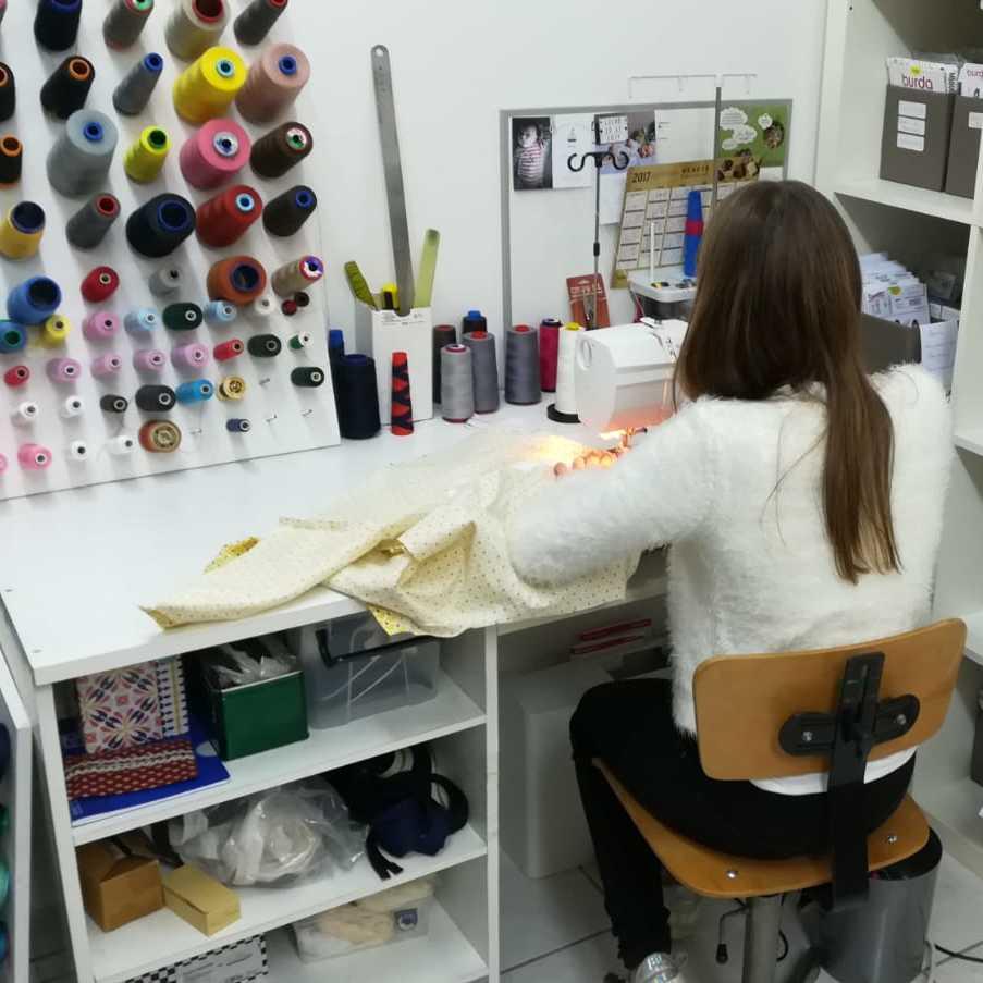 Cours de couture pour enfants à Cholet